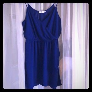 Lush Dresses - Lush Royal Blue Sleeveless Dress